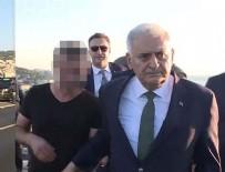 HALIÇ KONGRE MERKEZI - Başbakan Yıldırım, köprüdeki intiharı önledi