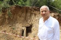 FATIH SULTAN MEHMET - Belediyenin Yol Çalışmasında Bin 800 Yıllık Mezar Ortaya Çıktı