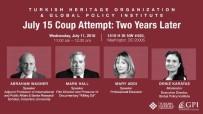 SÖZLEŞMELİ - Darbe Girişiminin Yıl Dönümünde ABD'de Önemli Panel