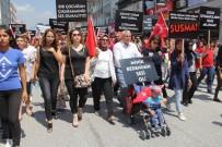MAVI BONCUK - Dörtyol'da Çocuk İstismarına Tepki Yürüyüşü