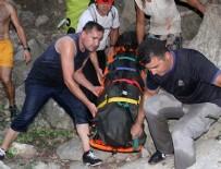 HASAN KARABULUT - Kayalıktan düşen turist hayatını kaybetti