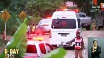 TAYLAND - GÜNCELLEME - Tayland'da Mağarada Mahsur Kalan Çocuklardan 5'İ Kurtarıldı