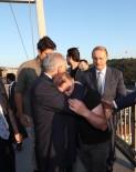 İNTIHAR - Köprüdeki İntihar Teşebbüsünü Başbakan Yıldırım Önledi