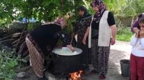 KEÇİ - Köylü Kadınlar 'Çeçil Peyniri' Üretimine Başladı