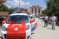 POLİS ARACI - Polis Aracı Şehit Kardeşine Sünnet Arabası Oldu