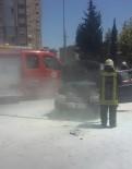 MESLEK LİSESİ - Seyir Halindeki Otomobil Alev Aldı