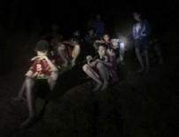 KYODO - Tayland'da mağarada mahsur kalan çocuklardan 6'sı kurtarıldı
