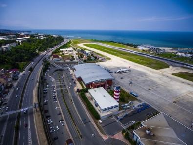 Trabzon Havalimanı'nı 2018 Yılının İlk Yarısında 1 Milyon 909 Bin 102 Yolcu Kullandı