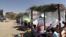 PERSPEKTIF - Van Gölü Kıyısında Halk Plajı Açıldı