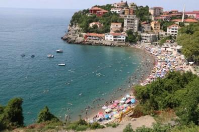 Zonguldak Plajı Akdeniz'i Aratmadı