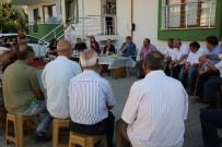 ZABITA MÜDÜRÜ - Akın Ve Daire Müdürlerinden İki Siteye Ziyaret