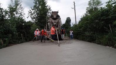 Altınordu Belediyesinden 4 Yılda 216 Kilometre Beton Yol