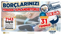 18 MAYıS - Belediye Borçlarında Taksitlendirme Fırsatı