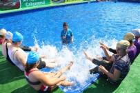 ÖZLEM ÇERÇIOĞLU - Büyükşehirden Portatif Yüzme Havuzu
