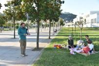 CEPHANELİK - Doğan, Seka Parkta Vatandaşların Misafiri Oldu