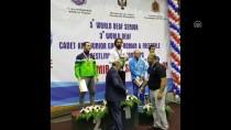 İŞİTME ENGELLİLER - İşitme Engelli Güreşçi Madalyalarına 'Altın'ı Da Ekledi