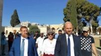 MESCİD-İ AKSA - İsrailli Milletvekillerinden Mescid-İ Aksa'ya Baskın