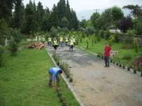 HÜSEYİN ÜZÜLMEZ - Kartepe'de Mezarlıklarda Çevre Düzenlemesi Yapıldı