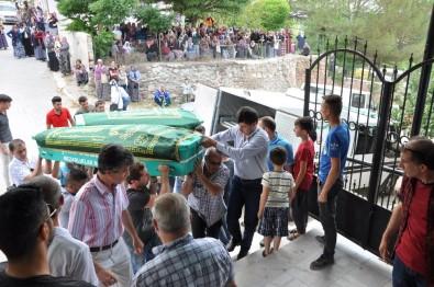 Kazada Hayatını Kaybeden Kardeşler Toprağa Verildi