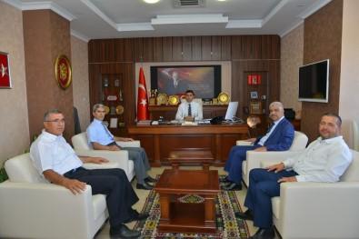 Kırşehir AÜE'si Yönetiminden Kaman İlçesine Ziyaret