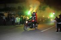 KÖPRÜLÜ - Motosiklet Sevdalılarının Köprülü Kanyon Gezisinde Renkli Görüntüler Oluştu