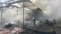 Orgeneral Nurettin Aknoz Kışlası'nda Yangın Çıktı