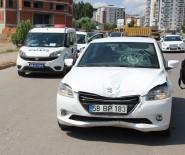 ŞEYH ŞAMIL - Otomobil Çarptığı İşçi Ağır Yaralandı