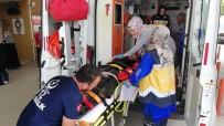 Otomobil Şarampole Uçtu Açıklaması 5 Yaralı