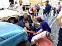 BAŞPıNAR - Otomobil Yayaya Çarptı