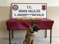 Sivas'ta 8 Kilo 650 Gram Eroin Ele Geçirildi