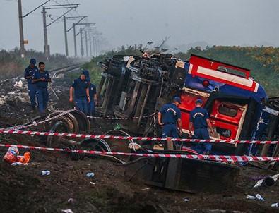 Tekirdağ'daki tren kazasıyla ilgili geçici yayın yasağı kaldırıldı