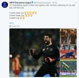 TÜRKIYE KUPASı - UEFA'dan Volkan Demirel Paylaşımı