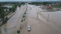 SEL BASKINLARI - Afyonkarahisar'da Sel Felaketi Hayatı Felç Etti