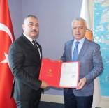 VEYSEL KARANI - AK Parti Çaycuma İlçe Başkanı Doğancı Mazbatasını Aldı