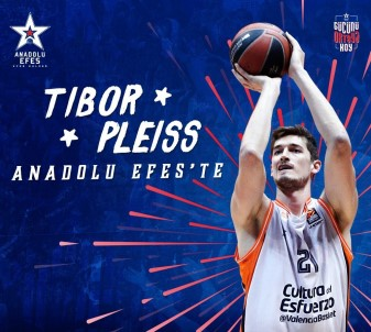 Anadolu Efes, Tibor Pleiss ile anlaştı