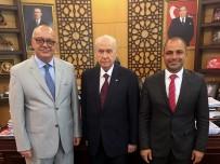 DEVLET BAHÇELİ - Başkan Ergün'den MHP Genel Başkanı Bahçeli'ye Ziyaret