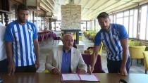 MEHMET SEKMEN - Büyükşehir Belediye Erzurumspor'da Çifte İmza