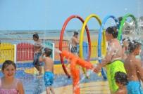 ENVER YıLMAZ - Çocuklardan 'Su Oyun Parkı'na Yoğun İlgi