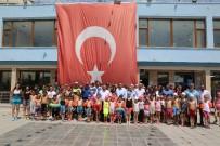 TEKVANDO - Develi'de Çocuklar Aileleri İle Spor Yapıyor