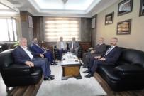 Diyanet İşleri Başkan Yardımcısı İşliyen'den Başkan Memiş'e Ziyaret