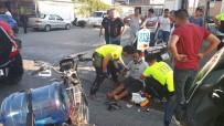 Edremit'te Motosikletler Çarpıştı Açıklaması 1 Yaralı