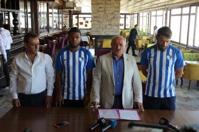 Egemen Korkmaz ve Auremir B.B. Erzurumspor'da