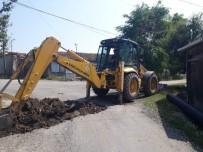 ELEKTRİK HATTI - İnönü Belediyesi Üst Yapı Çalışmalarına Devam Ediyor