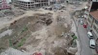ORTAHISAR - İnşaat Alanından Bin Yıllık Tarih Çıkınca Çalışmalar Durduruldu