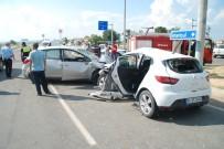 MURAT AYDıN - İpsala'da Trafik Kazası Açıklaması 4 Yaralı