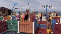 ENVER YıLMAZ - Ordu'da Çocuklar Su Oyun Parkında Serinliyor
