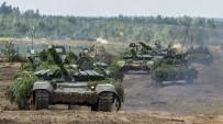 GÜNEY OSETYA - Rus Ordusu Uydu Üzerinden Tatbikata Başladı