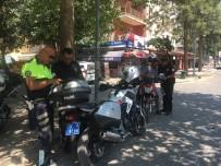 SÜRÜCÜ BELGESİ - Selçuk'ta Motosiklet Sürücülerine Kask Uygulaması