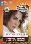 SERTAB ERENER - Sertab Erener, Aliağa'da hayranları ile buluşacak