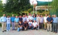 ÇALIŞAN GAZETECİLER - Tekirdağ Protokolü Ve Gazeteciler Bocce Turnuvası'nda Dostluk